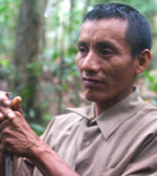 Urbano Matsés expert hunter gatherer