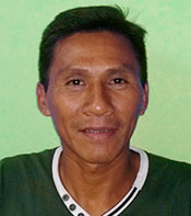Wilder Flores, High chief of the Matsés people