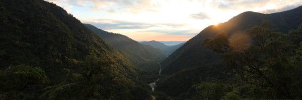 Upper Amazon rainforest valley photo mongabay