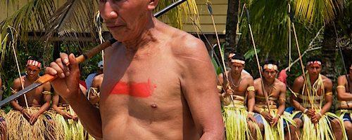 Matsés ceremony in Peru photo by Acaté Amazon Conservation