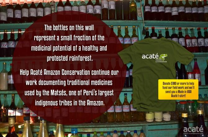 acaté amazon conservation traditional medicine iquitos rainforest