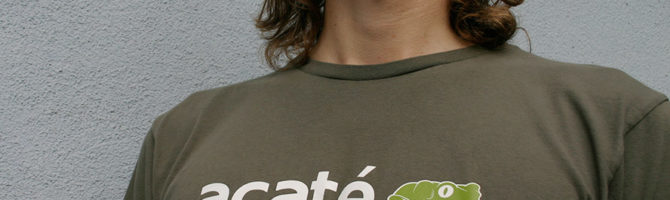 acate amazon conservation t-shirt
