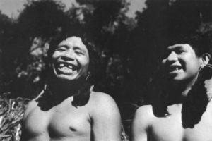 Héta men laughing and enjoying life