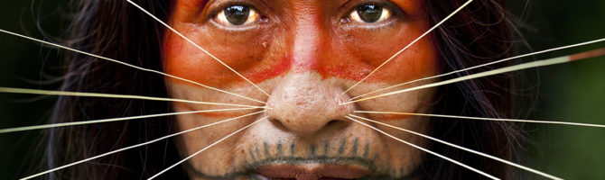 Portrait of the Matsés by Alicia Fox Photography