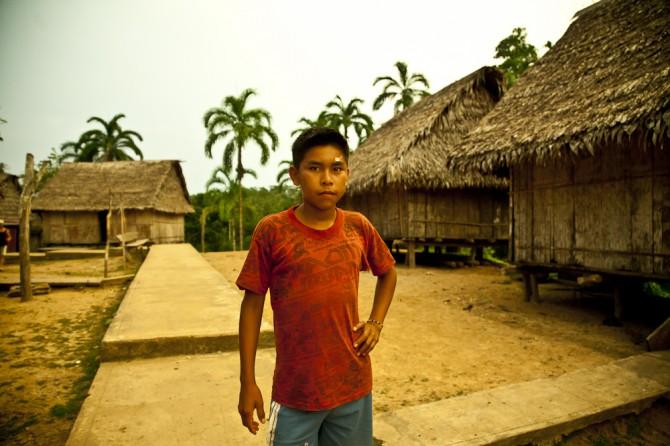 Matsés youth in Peru Alicia Fox Photography