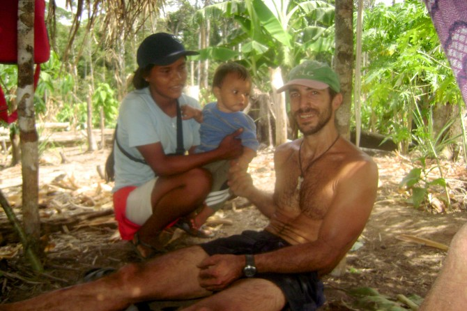 David Fleck and family