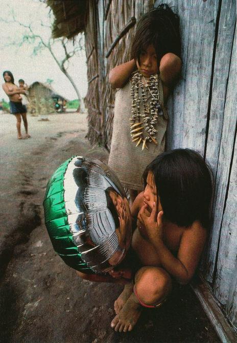 Urueu-Wau-Wau child mylar ballon