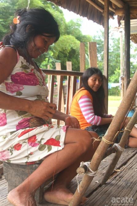 matsés weaving