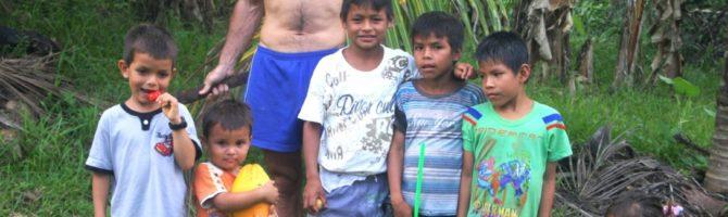 David Fleck and kids