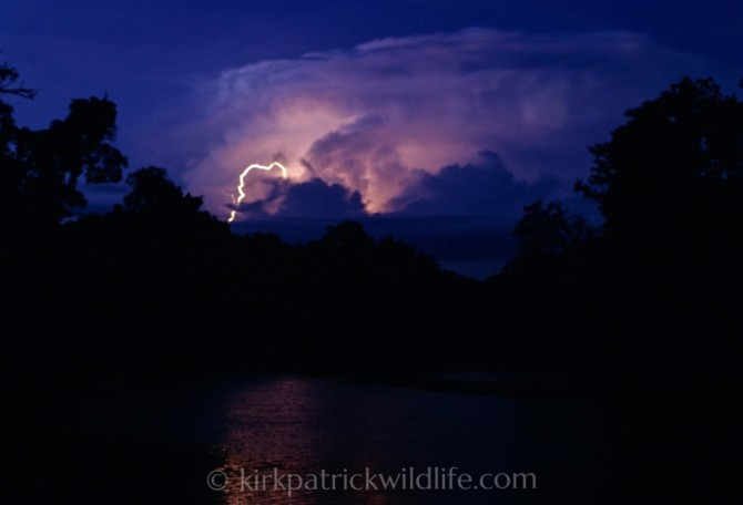 Lightning on Rio Momon, Amazon Kirkpatrick