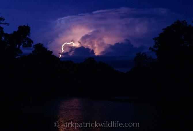 Lightning on Rio Momon, Amazon Kirkpatrick