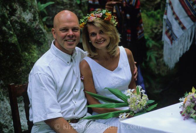 Stephen Kirkpatrick and Marlo Kirkpatrick wedding photo