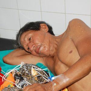 Arturo in Angamos health outpost bitten by fer-de-lance