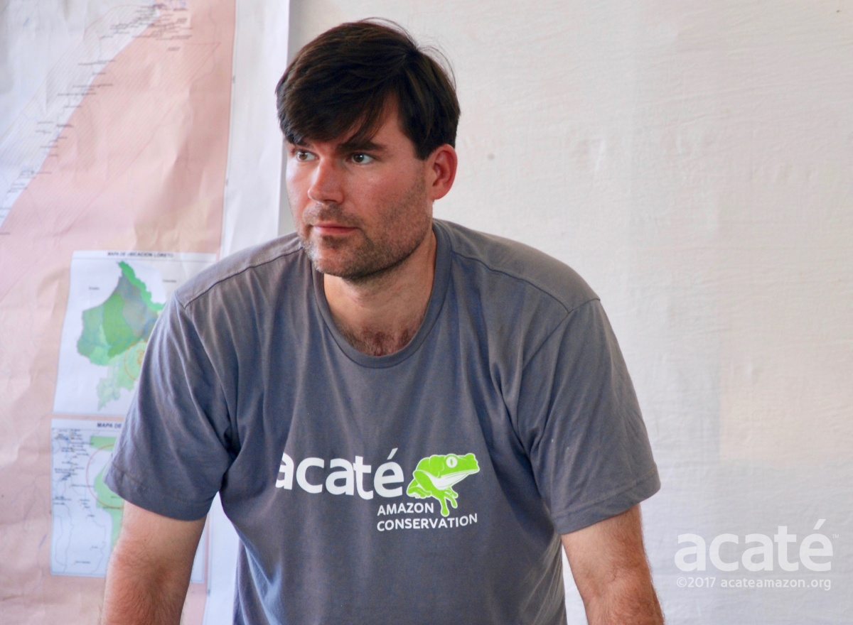 Acaté Co-Founder Christopher Herndon