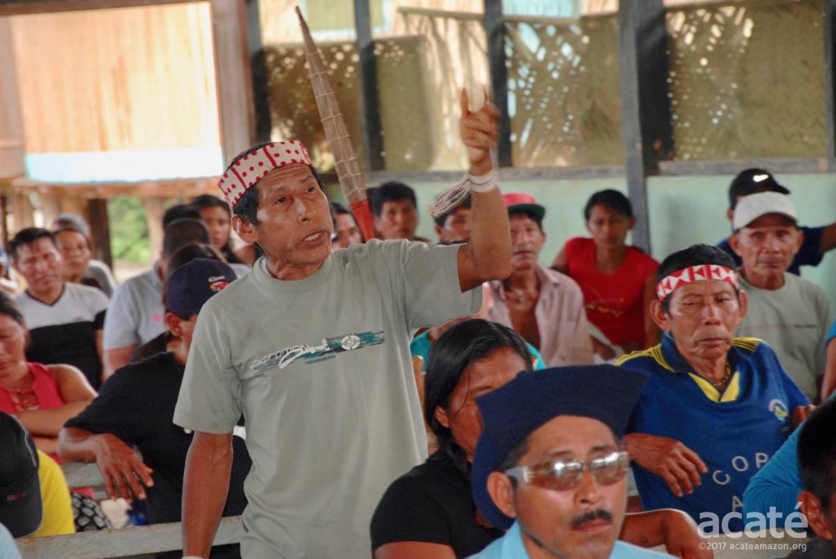 Matsés at Acaté meeting